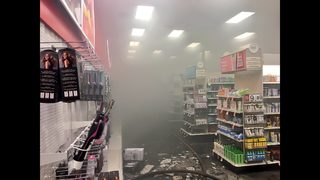 PHOTOS: Fire forces Huntersville Target evacuation
