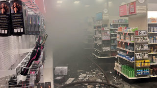 Huntersville Target evacuated after reported fire