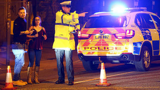 IMAGES: At least 19 dead after explosion near Ariana Grande concert in…