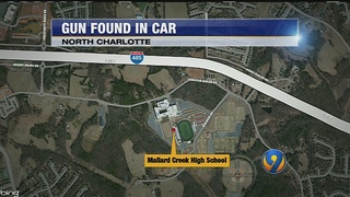 Mallard Creek student arrested after bringing gun to school