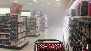 Fire discovered in paper product aisle of Huntersville Target
