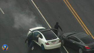 DRAMATIC VIDEO: Carjacking suspects