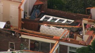 Possible tornado rips roof off home in Iredell County