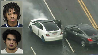 DRAMATIC VIDEO: Teens charged in high-speed chase, crash in Charlotte