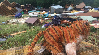 Severe storms, possible tornadoes damage homes, property