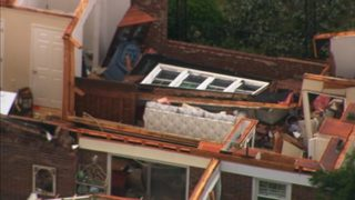 IMAGES: Damage on Swann Road in Iredell County