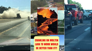 Lake Norman photo contests brings out I-77 traffic mockery