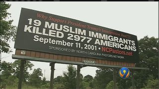 Some Catawba Co. residents think controversial billboard goes too far
