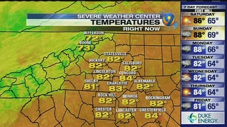 FORECAST: Hot, muggy start to Memorial Day weekend