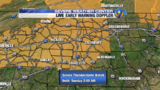 FORECAST: Threat for storms increase Saturday evening, overnight