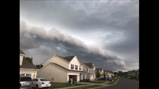 IMAGES: Viewer photos of storm clouds on Monday