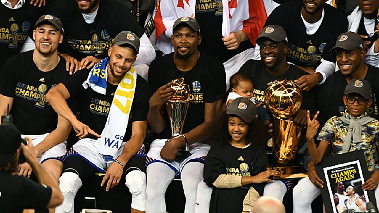 NewsAlert: Golden State Warriors win NBA Finals in five games