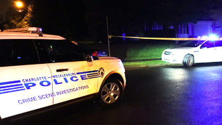 IMAGES: Man shot to death inside vehicle in east Charlotte