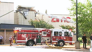 Neon sign causes fire at south Charlotte movie theater