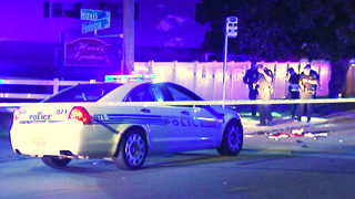 Man hospitalized after shots ring out at NW Charlotte bus stop