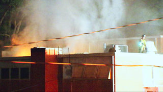 Investigators think fire at old Charlotte elementary school is arson
