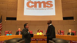 Several violations led to suspension of CMS superintendent, sources say