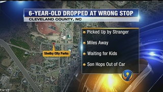 Boy picked up by stranger after dropped off at wrong bus stop