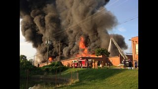 PHOTOS: Massive fire breaks out in Granite Falls
