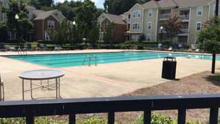 Child rescued from swimming pool in west Charlotte