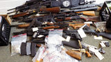 Massive stash of drugs, firearms seized from Salisbury couple