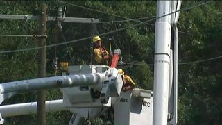More than 3,000 without power after tree falls on lines in Lancaster Co.