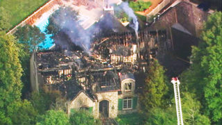 50 firefighters battle 2-alarm fire at multimillion-dollar SouthPark home