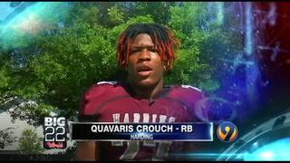 Big 22 campaign video - Quavaris Crouch - Harding