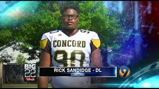 Big 22 campaign video - Rick Sandidge Jr. - Concord