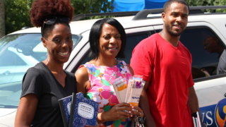 LendingTree Charlotte collects 9 School Tools supplies