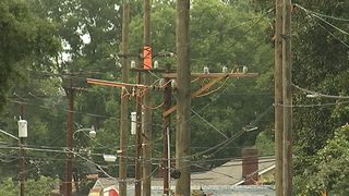 Belmont neighborhood residents mad at newly positioned Duke utility poles