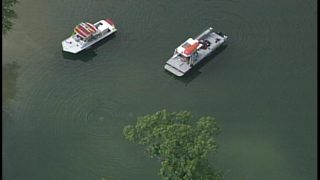 PHOTOS: Crews responding to possible drowning in lake in Mt. Holly