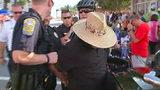 Man pepper sprays 'Soldiers Reunion Parade