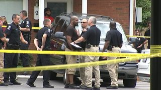 IMAGES: Police investigate deadly shooting in Grier Heights