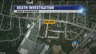 Body discovered behind east Charlotte home