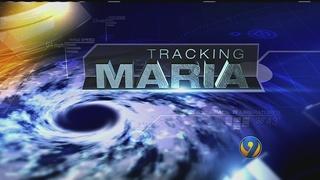 HURRICANE TRACKER: Cat 5 Hurricane Maria batters at Dominica in Caribbean