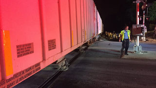 1 killed after train, vehicle collide in Gaston County