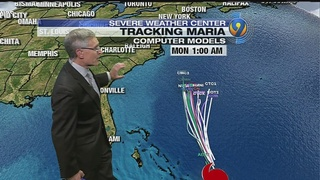 HURRICANE TRACKER: Maria expected to stay well off East Coast