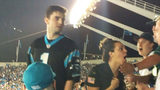 Friend of fan punched at Panthers game says they just asked Maraghy to sit down