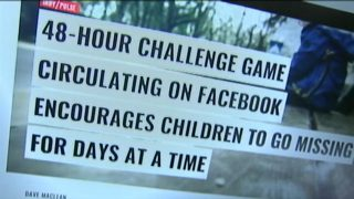 PARENT WARNING: New social media game encourages teens to disappear