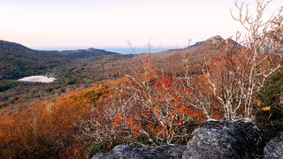 FALL FOLIAGE: Vibrant colors on display in the NC mountains