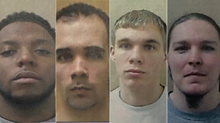 4 NC inmates charged with murder in attempted prison escape