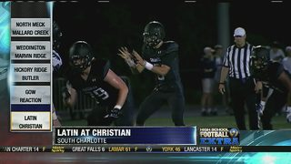GAME OF THE WEEK: Week 10: Charlotte Christian routs Latin, 34-0