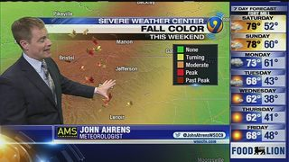 John Ahrens Friday 5 p.m. forecast