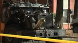 State inspector to investigate how massive school bus fire started