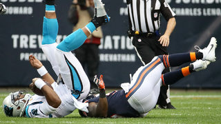 Panthers sacked by Bears, fall 17-3 in Chicago