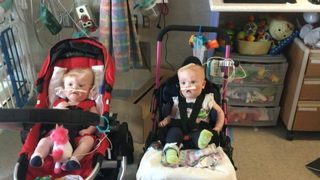 Mooresville twins thriving after surgery to separate them