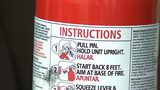Inspections for fire extinguisher past due across CMS' bus fleet