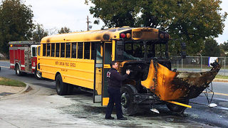 Channel 9 confronts CMS on internal memo regarding school bus fires