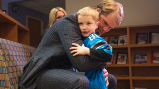 Greg Olsen backs program to help children with heart defects